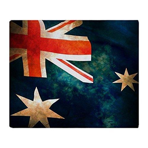 CafePress - Australian Aussie Flag - Soft Fleece Throw Blanket, 50