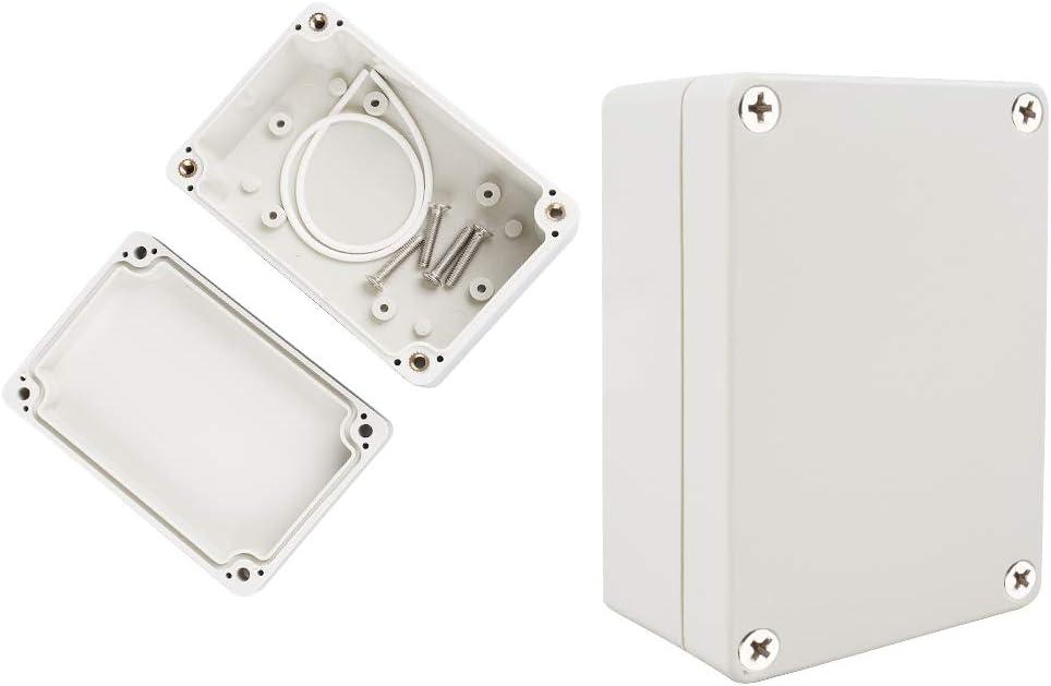 chudian 2pcs Caja de Conexiones, Cajas Estancas Caja Electrica ...