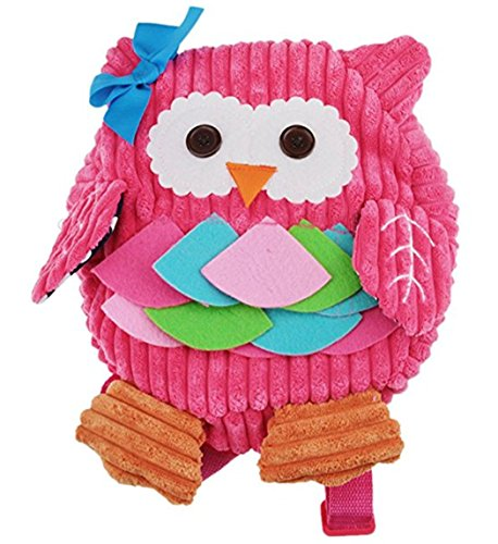 Price comparison product image School Toddler Owl Backpacks Zoo 3D Cute Cartoon Baby Shoulder Bags