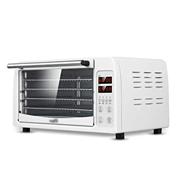 AI LI WEI Secador de Frutas, Pantalla Digital eléctrica Temperatura Regulable Sincronización Silencio Bandeja de Acero Inoxidable de 5 Capas Máquina Seca ...