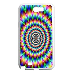 Psychedelic Tunnel Samsung Galaxy Note 2 Cases, Cathyathome {White}
