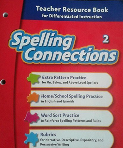 Download Spelling Connections, Grade 2 Teacher Resource Book for Differentiated Instruction pdf