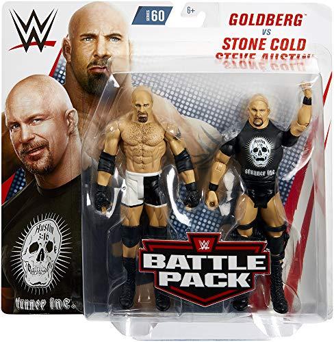 Ringside Goldberg & Stone Cold Steve Austin - WWE Battle Packs 60 Mattel Toy Wrestling Action Figure 2-Pack ()