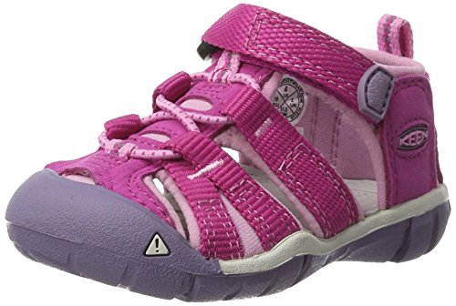 KEEN Kids' Seacamp II CNX Sandal Very Berry/Lilac Chiffon 7 M US Toddler