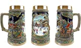 """""""Winter In Germany"""" Essence of Europe Gifts E.H.G. Collectible Ceramic Beer Stein (#1 in Collection of Four Steins)"""