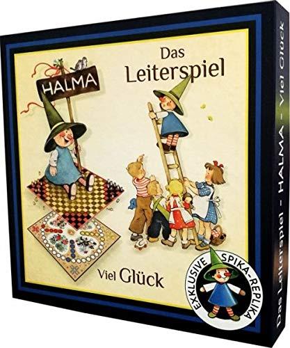 Spielesammlung Halma Viel Gl/ück Leiterspiel