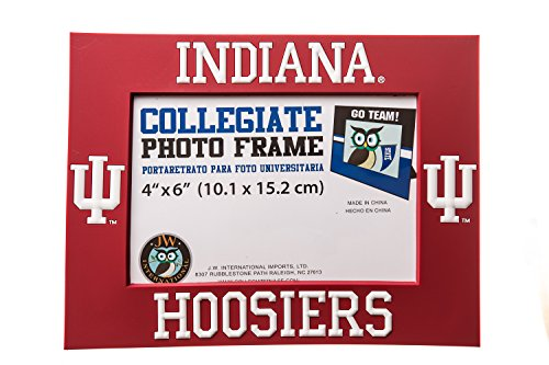 Collegiate Pulse Indiana Hoosiers NCAA PVC Photo Frame