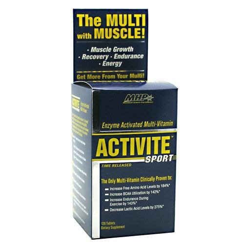 Activite, The Multi with Muscle, 120 Tablets, From - Tablets 120 Activite Sport