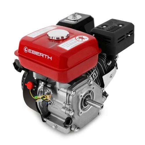 EBERTH 6,5 PS Benzinmotor 1 Zylinder 4-Takt 19,05mm Welle