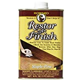 kitchen paint colors with maple cabinets Howard Products RF2016 Restor-A-Finish, 16 oz, Maple-Pine