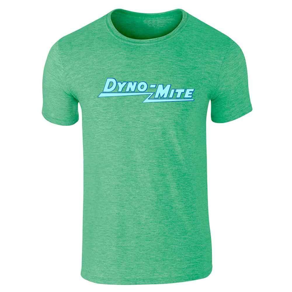 Dynomite Retro Funny Cool Heather Irish Green 2 Short Sleeve Shirts
