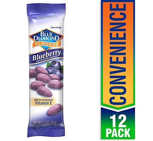 Blue Diamond Blue Diamond Almonds Almonds, Blueberry 1.5 OZ,, 1.5 oz (2)