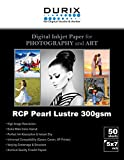 5x7 photo paper 100 sheets - RCP Pearl Lustre 300gsm Digital Inkjet Paper for Photography and Art (5-x-7)