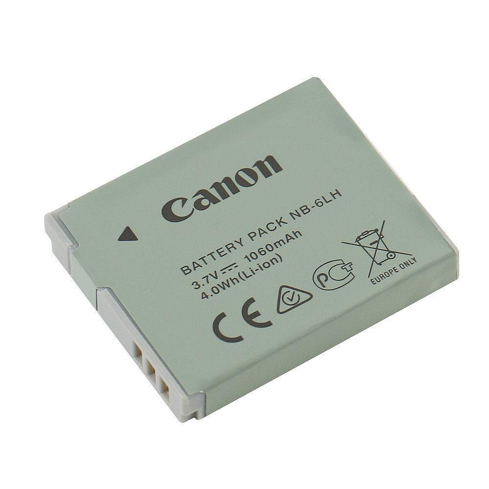 NB-6L NB-6LH Li-ion Battery for Canon PowerShot D10 D20 S90 S95 S120 SD770 is SD980 is SD1200 is SD1300 is SD3500 is SD4000 is Camera by IS-Battery