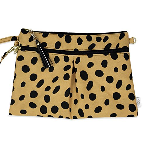 Waterproof Wristlet Clutch Carrier Leopard product image