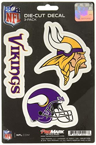 NFL Minnesota Vikings Team Decal, -