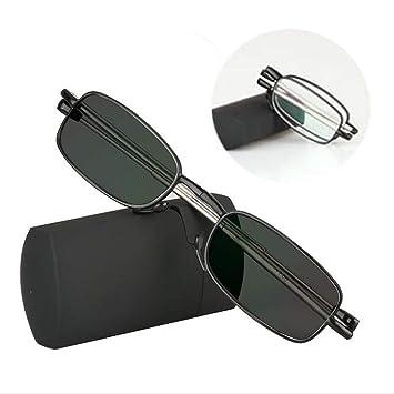 b67f8d82b9 Transition Photochromic Folding Optical Myopia Hyperopia Reading Glasses +Rx  -Rx Custom Strength Mini Pocket