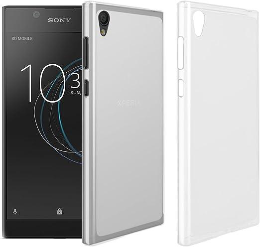 RIFFUE Funda Sony Xperia L1, Flexible TPU Ultra Suave Silicina ...