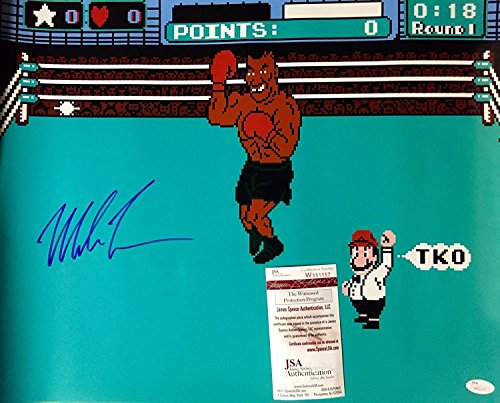 autographed-signed-mike-tyson-punchout-nintendo-video-game-boxing-16x20-photo-jsa-coa