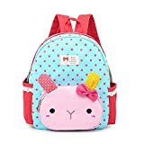 Comfysail Cute Rabbit Kid's Backpack - Best Gift for 3-5 years old Little Children (Blue)