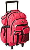 Everest Deluxe Wheeled Backpack, Hot Pink, One Size