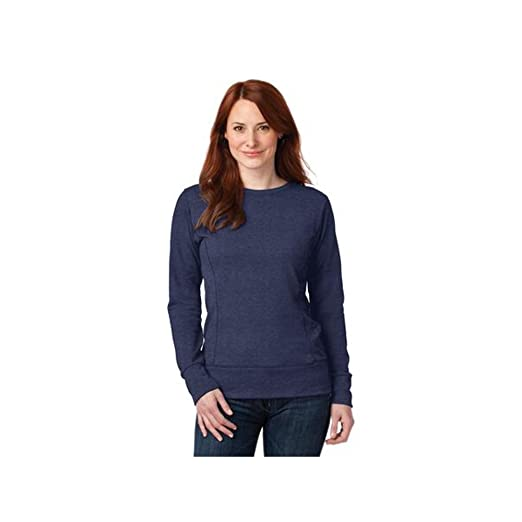 92d720e4f Anvil Ladies French Terry Crewneck Sweatshirt
