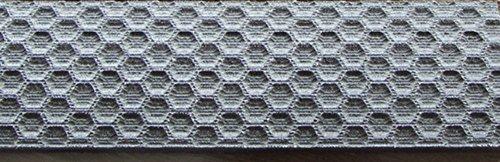 Black Linen Micarta Honey Comb Texture Knife Scales 1/16