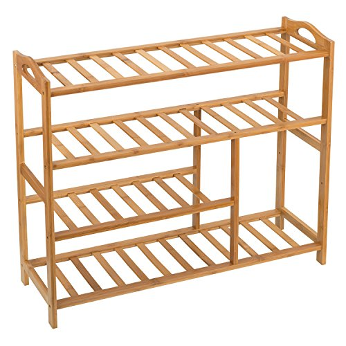 Ollieroo Bamboo Entryway Storage Organizer product image