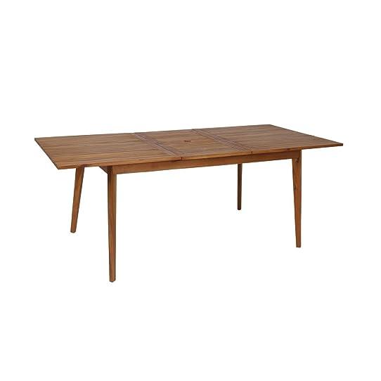 greemotion Table de jardin extensible Sylt - Table de jardin à ...