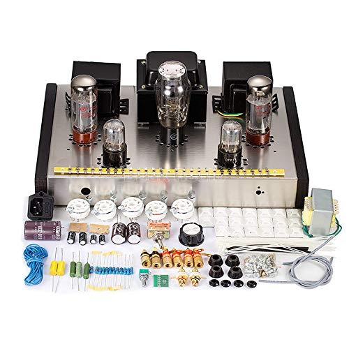 Nobsound EL34 Class A Single-ended Tube Amplifier Stereo HiFi Amp DIY Kit 1Set (Preamplifier Stereo Kit)