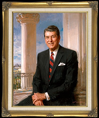 Ronald Reagan Poster Print Framed Art