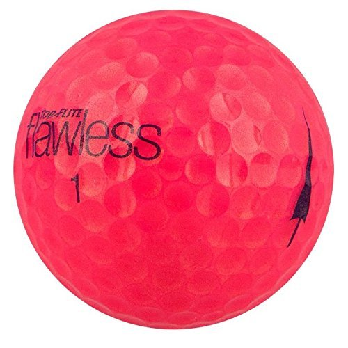 Top-Flite Flawless High Visibility Pink Golf Balls - 12 Count Designed for Women's Swing Speeds by Top Flight (Image #1)