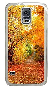 Samsung Galaxy S5 Falling Like PC Custom Samsung Galaxy S5 Case Cover Transparent