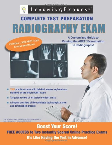 Download Radiography Exam (Learning Express Complete Test Preparation) pdf epub