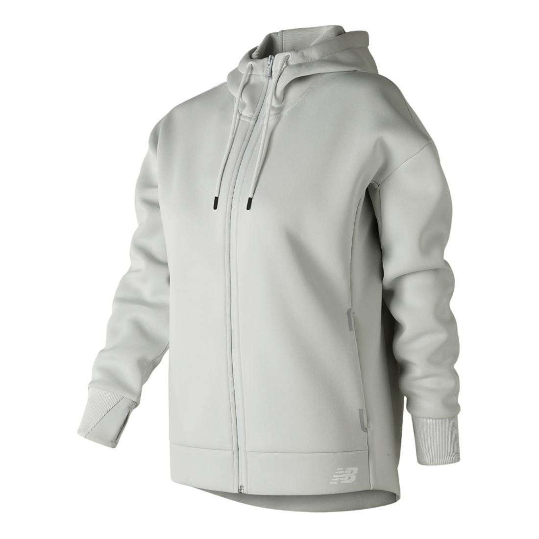 992375870680d Amazon.com: New Balance Womens 247 Sport Full Zip Hoodie, Arctic Fox ...