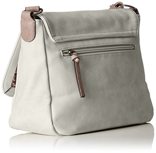 Comb Gray light Bags Moon Women M Tamaris Crossbody Gray Shoulder Bag dPqzw7Zxvp