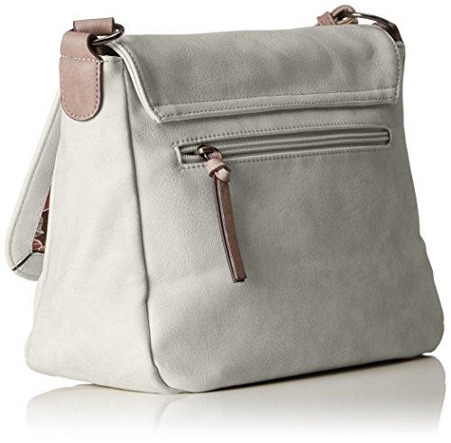 Tamaris light Bags Comb Gray Bag Moon Gray M Shoulder Crossbody Women 8Bq8XrZWv