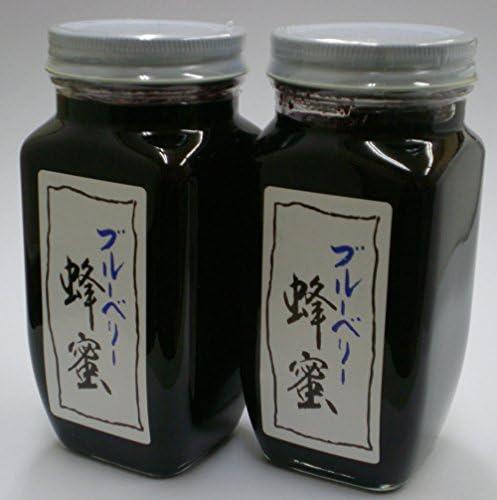 ブルーベリー蜂蜜420g×2 ジャム 大粒 コンポート