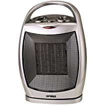 H-7247 Portable Oscillating Ceramic Heater with Thermostat with Extended Cord