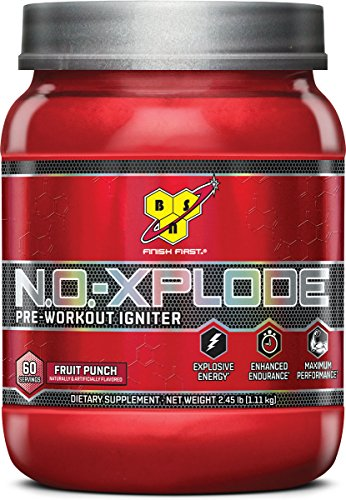 N.O.-Explode Pre Workout Product Review