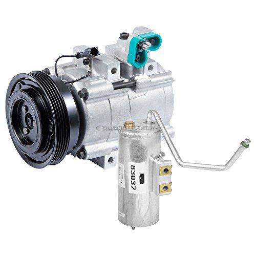 OEM AC Compressor w/ A/C Drier For Hyundai Sonata & Kia Optima - BuyAutoParts 60-88048R4 New Hyundai Sonata A/c Compressor
