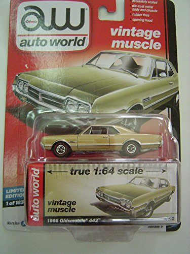 1966 Oldsmobile 442 (1966 Oldsmobile 442 Auto World Premiums Series / Release 5 / Version D / Vintage Muscle)