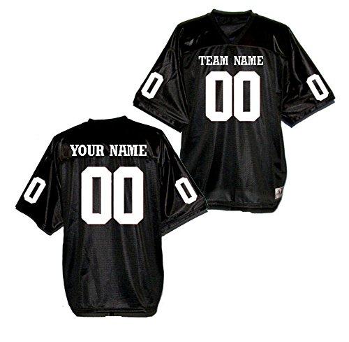 Custom Football Team Jerseys - OnTheField.com Custom Football Replica Team Jersey (Large, Black)