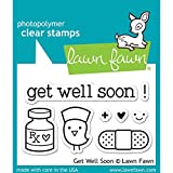 Lawn Fawn Get Well Soon Clear Stamps LF682 by Lawn Fawn
