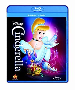 Cover Image for 'Cinderella (Two-Disc Diamond Edition Blu-ray/DVD Combo in Blu-ray Packaging)'