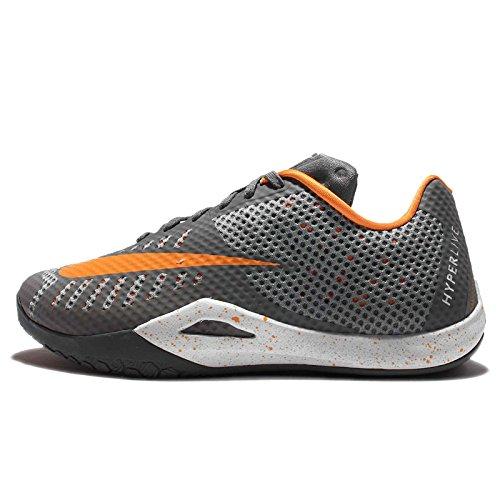 Nike Mens Hyperlive Ep, Cool Grigio / Vivido Arancione-lupo Grigio-bianco Freddo Grigio / Vivido Arancione-lupo Grigio-bianco