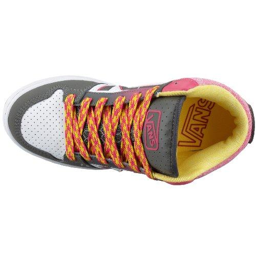 Vans UPLAND 3 MID VIPPY61, Damen Sneaker Grau (Charcoal/Magenta)