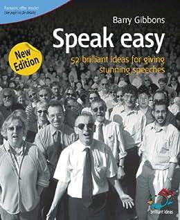 Speak Easy (52 Brilliant Ideas) by [Gibbons, Barry]