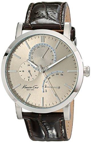 Kenneth Cole New York Men's KC1945 Dress Sport Grey Dial Multi-Function Strap Watch