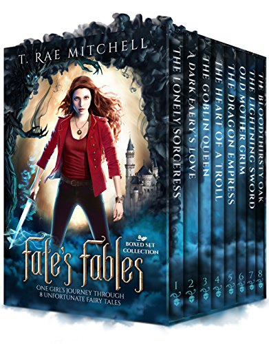 Fate's Fables Boxed Set Collection: One Girl's Journey Through 8 Unfortunate Fairy Tales (Fate's Journey  Book 1) (Fairy Boxed)